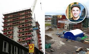 Skribenten är på Daniel Blomqvists linje angående olika byggnadsprojekt i Sundsvall. Bild Tommy Lindberg / Privat
