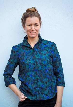 Catrin Offerman.                                                                                    Fotograf: Lina Östling