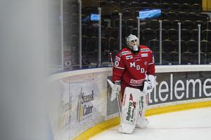 Linus Lundin får chansen från start igen för femte matchen i rad. Bild: Jonas Forsberg/Bildbyrån
