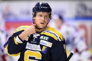 Victor Andersson gjorde 43 poäng på 131 serie- och kvalmatcher för SSK. Foto: Bildbyrån.