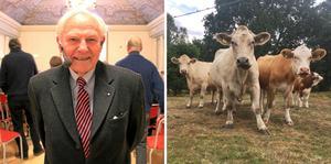Ingvar Ekesbo får det nya priset för insatser för lantbruksdjuren.