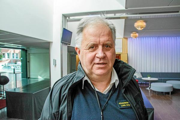 Lars Nyman, förbundschef Jämtlands räddningstjänstförbund.
