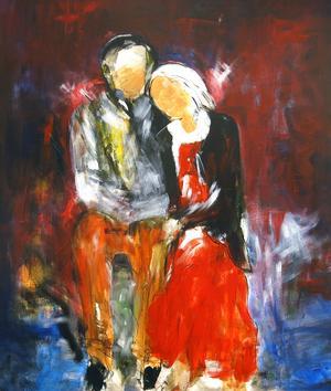 """""""Vi två"""" av Barbro Eriksson."""