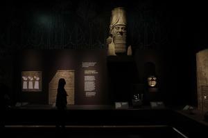 Ashurbanipal styrde det assyriska riket från staden Nineveh på 600-talet före Kristus. Foto: Matt Dunham/AP Photo