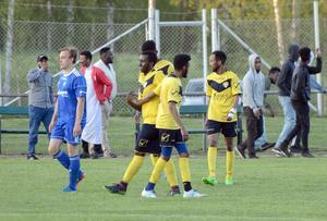 Swesom jublar efter 3–0-segern borta mot Svärdsjö.