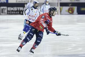 Daniel Välitalo kom till Edsbyn år 2000 och har sedan dess varit en given spelare i mästarlaget.