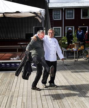 Sven Bodin och Ruben Madsen tar en svängom.