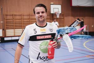 Mattias Karlsson – råstabil lagkapten i Håsta IBK.