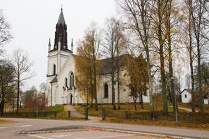 Skinnskatteberg kyrka.