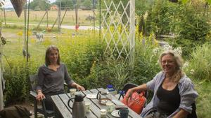 Louise Baurén och Lena Ryberg Ericsson är båda delägare i Köpings musteri.