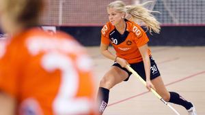 Sofia Olander tog möjligheten att spela forward på bästa sätt.