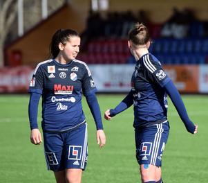 Armisa Kuc och Melisa Hasanbegovic förlorade sin första seriematch med Kvarnsvedens IK.