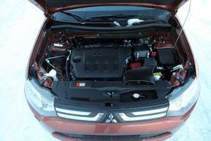 Mitsubishi har själva utvecklat en dieselmotor på 2,2 liter .Men den når inte upp till den förra dieseln från franska PSA som tidigare satt i modellen.
