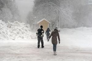 Riktigt så mycket som det snöade under förra veckan kommer det inte snöa, enligt Forecas prognos.