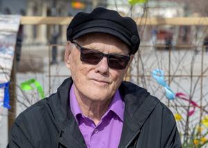 Rolf Notefält, 80 år, pensionär, Sundsvall