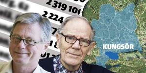 Birger Thorell, pensionerad läkare och Bengt Sörberg, före detta fabrikör, återfinns åter igen på listan över de som tjänar bäst i Kungsörs kommun.