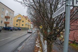 En gång- och cykelväg på Bergsgatan beräknas kosta 15,4 miljoner kronor.