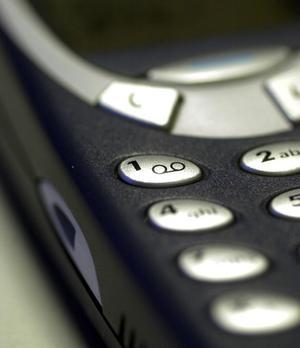 Nokia 3310. Arkivfoto: TT