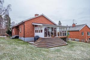 Denna villa i Övre Norslund i Falun kom på fjärde plats på Klicktoppen under vecka 52.Foto: Mikael Tegnér