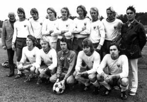 Ope hade även ett mycket starkt juniorlag på 1970-talet.  På den här bilden från september 1973 syns den legendariske ledaren Nisse Wikén längst till vänster med ett starkt gäng. Stående näst längst till höger syns Håkan