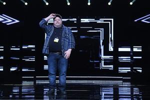 Kalle Moraeus under årets Melodifestival, innan medverkan i