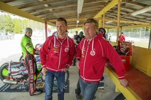 Totalt 14 säsonger har Mikael Teurberg och Andreas Jonsson spenderat tillsammans i Rospiggarna.