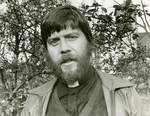 Claes-Bertil Ytterberg som ny präst i Arboga 1973. Foto: Privat