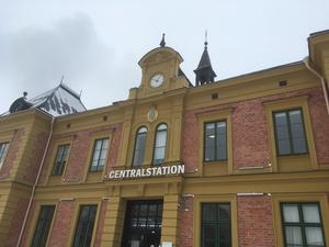 Linköping Centralstation. 1872 arkitekt Adolf W Edelsvärd. Foto: Privat.