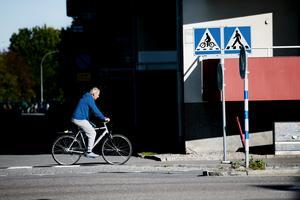 År 2020 ska andelen resor  som görs med cykel i Örebro vara 33 procent och andelen gående 15 procent. (Arkivfoto)
