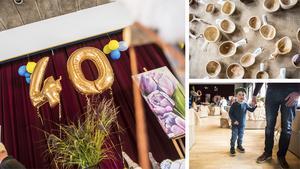 40-årsjubileet av Höga kusten Expo lockade både lokalbor och turister.