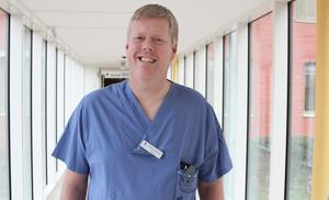 Fredrik Sahlander, överläkare.