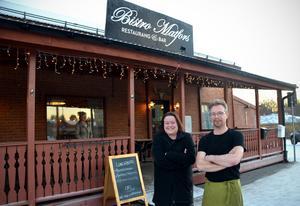 Paret Almkvist hoppas att fler Matforsbor ska hitta till restaurangen.