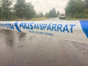 Mannen som ska ha mördats hittades i ett bostadsområde i Boda Kyrkby.