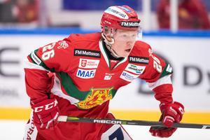 Färjestads-fostrade Schagerberg kommer att göra sin tredje säsong i Mora IK. Foto: Bildbyrån