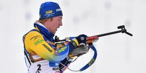 Sebastian Samuelsson hade ingen lyckad dag i Oberhof.