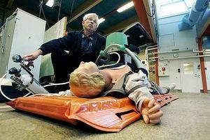 Redan 2014 började Gästrikland testa hjärtmassagemaskinen Lucas, bilden, i forskningssyfte. Foto: Leif Jäderberg