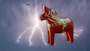Har det tillverkats fler magiska dalahästar i Nusnäs? I hemlighet i så fall. Foto: TT/Nordiska museet