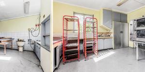 Det finns ett gammalt bageri i Logårdens källare. Bilder: Mäklarfirman Carlsson Ring
