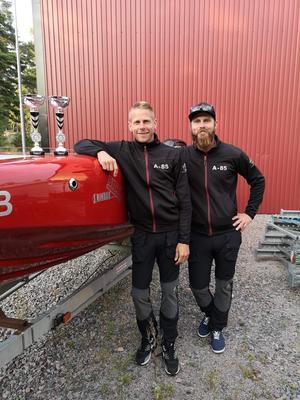 Thomas Billman och Jonatan Rindar
