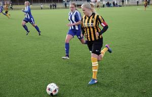 Matilda Bergkvist gjorde det avgörande målet och sköt Korsnäs vidare i cupen.