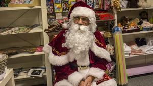 Ingen julmarknad utan självaste tomten!