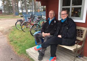 Leif Lundell, ägare av Ore Fritidsby sedan 7 år, är glad för att Sussie nu tar över restaurangen.