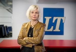 Lillan Hedlund, chefredaktör LT Södertälje.