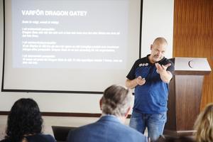 Olle Larsson berättar varför han bestämde sig för att köpa Dragon Gate.