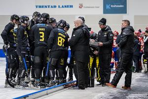 Gripens nyförvärv Mikko Lukkarila tycker inte att lag visat på försäsongen att man är redo att ta klivet till elitserien. Bild: Hans Löfgren/Gripen Trollhättan BK