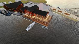 Ett utflyktsmål för besökare som kommer både landvägen och till sjöss är förhoppningen.