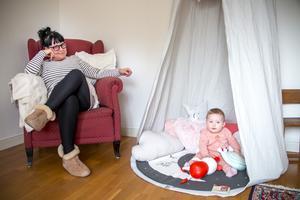 Sara Mårtens var 44 år när hon blev gravid och drabbades av en depression.