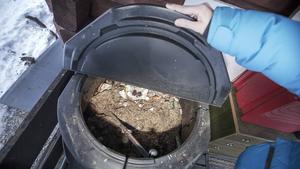 Vafab Miljö vill hellre se till att de tar hand om matavfallet för att kunna producera gas och biogödsel.                                                                     Foto: Johan Axelsson