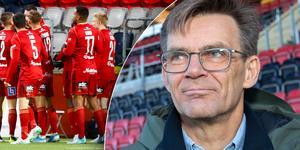 ÖFK:s vd, Lennart Ivarsson, kan glädjas åt att klubben fått in en stor summa pengar den senaste veckan. Bild: TT.