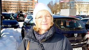 Ann Nordlöf, 63 år, pensionär, Tynderö: